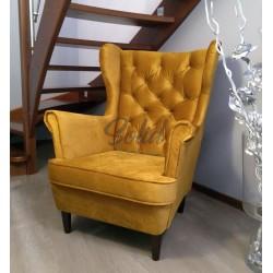 Fotel Uszak pikowany